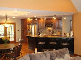 paint ideas for open living room and kitchen interior enchanting open living room kitchen painting ideas
