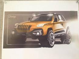 jeep renegade comanche pickup concept comanche concept redesign inputs jeep cherokee forum