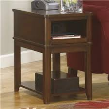 Power Chairside End Table Signature Design By Ashley Jaysteen Chair Side End Table With