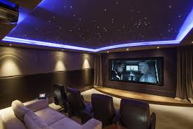 movie theater themed home decor appealing home movie theater by large screen on the brown ideas