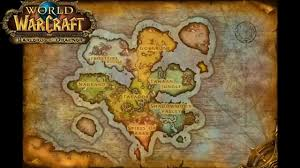 World Of Warcraft Maps by Warlords Of Draenor Alpha Map Youtube