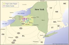 New York Counties Map Finger Lakes Maps Trip Planning Visit Finger Lakes