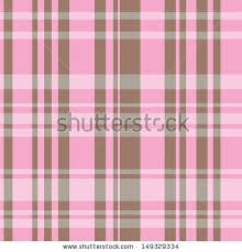 seamless plaid pattern brown pink colors stock vector 149329334