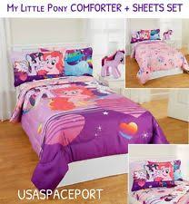 Girls Twin Bed In A Bag My Little Pony Comforter Ebay