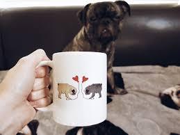 everyone needs a pug mug great home decor unique pug mug model