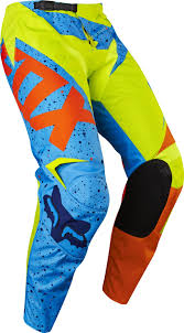 blue motocross gear 2017 fox nirv 180 hc motocross gear yellow blue 1stmx co uk
