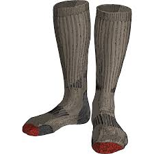 mens heavyweight primaloft over the calf socks duluth trading