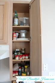 Narrow Spice Cabinet Small Space Storage Solution For Spices In Your Kitchen