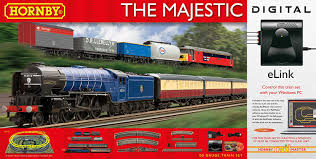 hornby the majestic with e link dcc 00 gauge electric train set