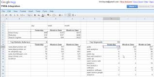 How To A Simple Spreadsheet The Piwik Api And Spreadsheet To Generate Excel Like