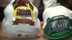 choosing your turkey at wegmans