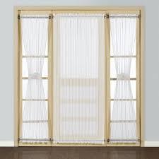 amazon com american curtain and home semi sheer door window