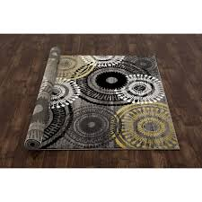 how to decorate yellow grey rug on target rugs dining room rugs