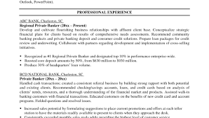 Personal Banker Job Description For Resume by Wells Fargo Financial Advisor Cover Letter