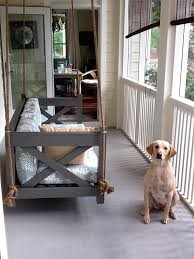 hanging porch bed outdoor hanging beds for your home interior