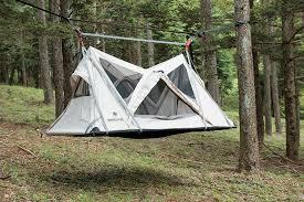 elevated camping meet the snow peak u0027sky nest u0027