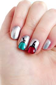 the trendy ornament nails