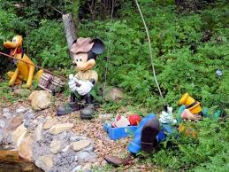mickey mouse lawn ornaments garden mickey mouse