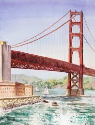 golden gate bridge san francisco irina sztukowski canvas