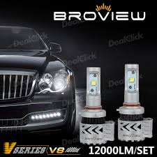 lexus rx300 headlight bulb replacement broview 2x 9005 9140 12000lm headlight high beam white 6500k led