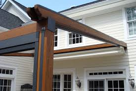 Retractable Awnings Nj Private Residence Northern Nj Retractable Pergola Awning