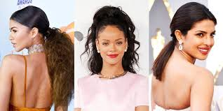 what hairstyle to wear for women when youre bald 23 cute ponytail hairstyles best celebrity ponytails of 2017 elle