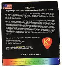 Medium Light Guitar Strings by Dr Strings Nmcb5 45 Dr Neon 5 String Bass Guitar Strings Medium