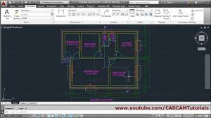 autocad floor plan tutorial for beginners 6 youtube