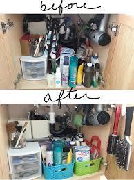 Under The Kitchen Sink Organization by 45 Best Under Sink Storage Images On Pinterest Organization