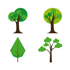 cute plant cute tree vector illustration set 03 vector plant free download