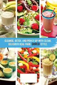 the shred power cleanse eat clean get lean burn fat ian k