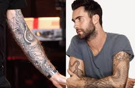 diesel tattoos adam levine tattoos brother and house