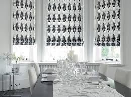 Fabric Blinds For Windows Ideas Best Stunning White Fabric Shades And Sheer Inside Window