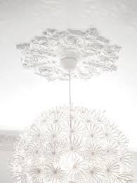 White Light Fixture Possini Design White Flower 15 3 4 Wide Ceiling Light