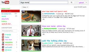 Doge Meme Youtube - the complete list of youtube easter eggs tubegeeks