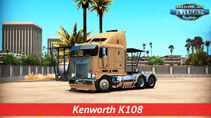 kenworth truck parts kenworth k108 interior v1 0 v1 3 x american truck simulator