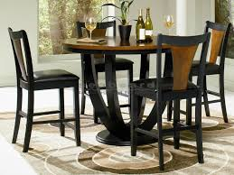 high top round kitchen table boyer two tone counter height dining table set