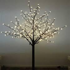 china 2m brown cherry trees led christmas tree lights 110 240v