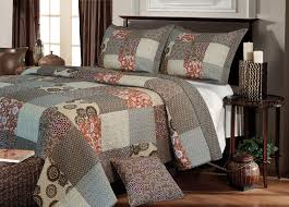 Bedspread Sets King Amazon Com Greenland Home Fashions Stella Quilt Set King Home