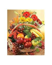 fruit and flower basket fruit and flowers basket in bound brook nj america s florist gifts