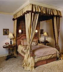 Bed Canopy Curtains Slanted Ceiling Bed Canopy Bedroom Traditional With White Walls