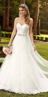 aline wedding dresses 36 gorgeous a line wedding dresses wedding dress chapel