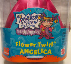 mattel rugrats paris the movie totally angelina flower twirl