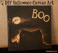halloween art prints easy diy halloween canvas art halloween spooktaculous
