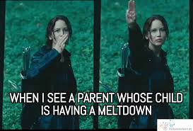 Parent Meme - how to survive when your toddler throws a tantrum in public the