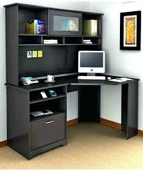Tower Corner Desk Computer Desk With Storage M Small Corner Desk With Storage Brown