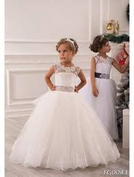 toddler wedding dress your color flower dress with a pink sash and flowers a