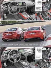nissan gtr vs bmw m4 bmw m4 vs audi rs5 compared on nurburgring gp track by autozeitung