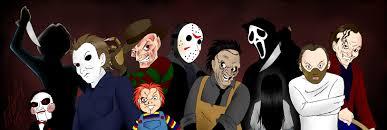 horror movie icons by darthguyford on deviantart