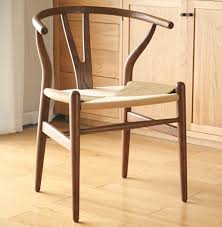 Restaurant Dining Chairs White Oak Monolith Cutting Wood Chair Y Chair Wishbone Chairs